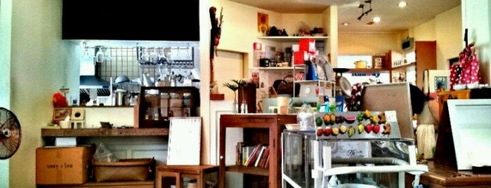 Parden Parfait and Cafe is one of Bakery.