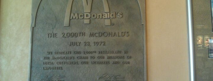 McDonald's is one of All-time favorites in United States.