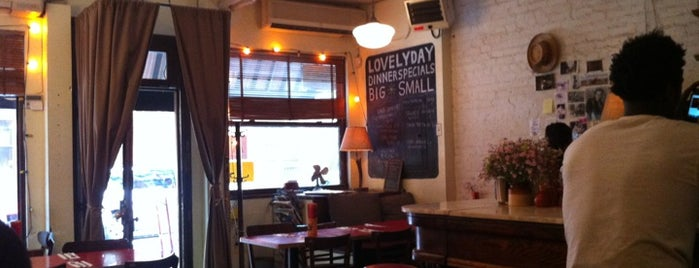 Lovely Day is one of manhattan restaurants.