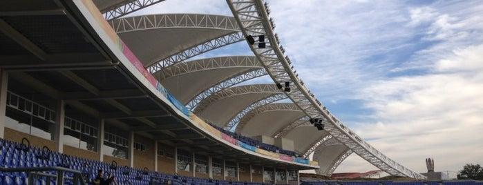 Estadio TELMEX de Atletismo is one of Reto 100 ZMG.