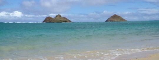 Lanikai Beach is one of Oafu.