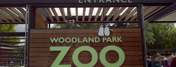 Woodland Park Zoo is one of The Crowe Footsteps.