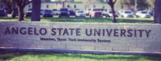 Angelo State University is one of Texas Higher Education.