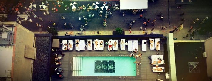 SIXTY LES Hotel is one of The Coolest Pools in NYC.