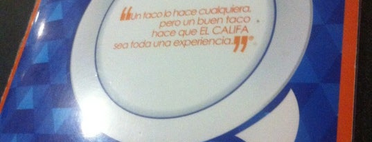 El Califa is one of Algunos lugares....
