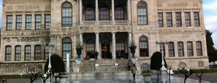 Dolmabahçe Sarayı is one of 1stANBUL Tarih turu.