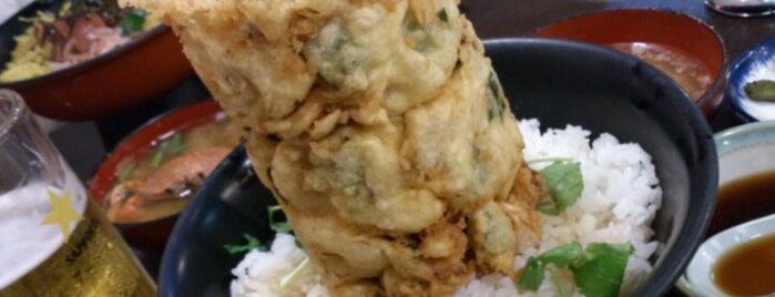 魚河岸丸天 魚河岸店 is one of テラめし倶楽部 その1.