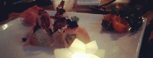 Swordfish Sushi is one of Food.