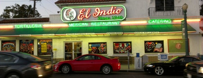 El Indio is one of San diego CA 🌴.