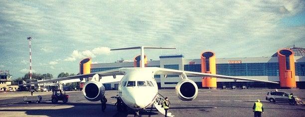Khrabrovo International Airport (KGD) is one of HAVALİMANLARI.
