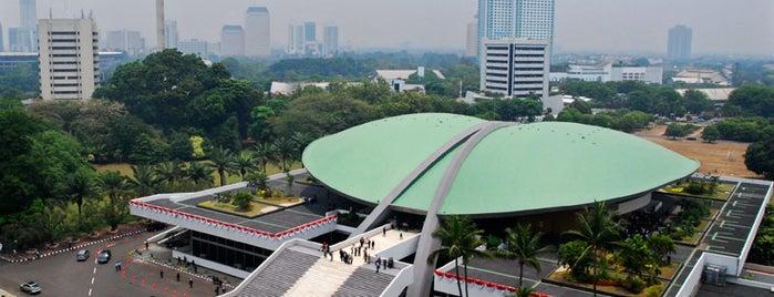 Gedung MPR/DPR RI is one of Enjoy Jakarta 2012 #4sqCities.