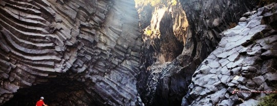 Gole dell'Alcantara is one of South Italy.