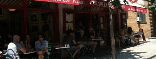 Cornelia Street Cafe is one of My favorite NYC Restaurants.