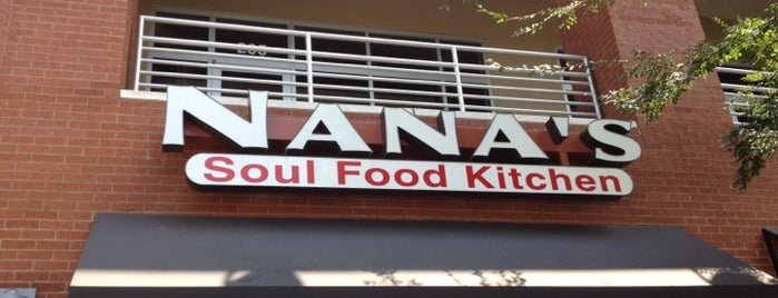 Nana's Soul Food Kitchen is one of Footprints in charlotte.