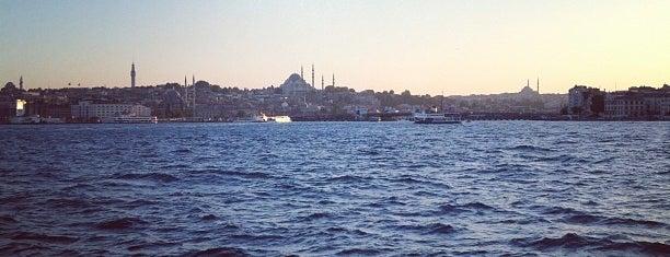 Bosphorus is one of Kuyumcu.