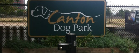 Canton Dog Park is one of dog friendly places.