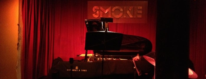 Smoke Jazz & Supper Club is one of Jazz Ain't Nuthin' But Soul.
