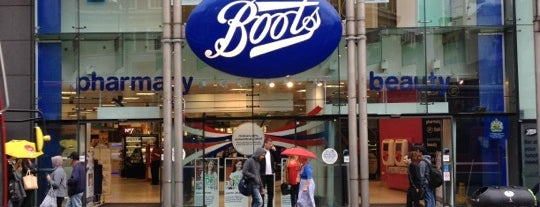 Boots is one of London.