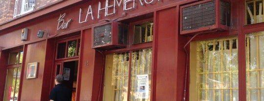 La Hemeroteca is one of Madrid: de Tapas, Tabernas y +.
