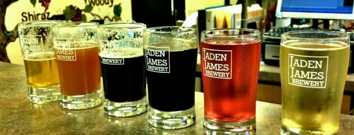 Jaden James Brewery is one of Michigan Breweries.