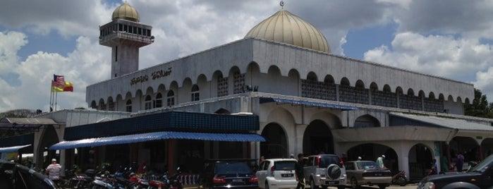 Masjid Jamek Al-Amaniah is one of Baitullah : Masjid & Surau.