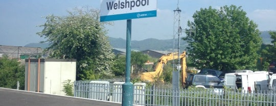 Welshpool Railway Station (WLP) is one of Railway stations visited.