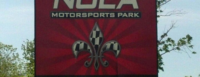 NOLA Motorsports Park is one of NoLa Bachelor Party.