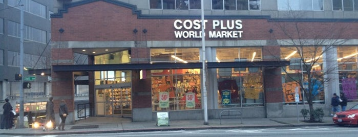 Cost Plus World Market is one of The 15 Best Gourmet Shops in Seattle.