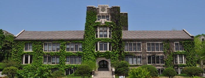Yonsei University 언더우드관 is one of Korean Early Modern Architectural Heritage.