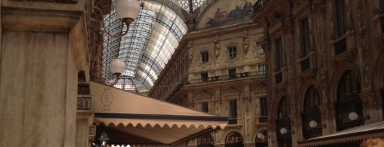 Galleria Vittorio Emanuele II is one of Best places in Milan.