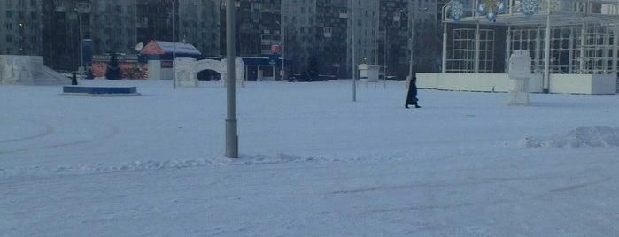 Площадь Торжеств is one of Wi-Fi в Новокузнецке.