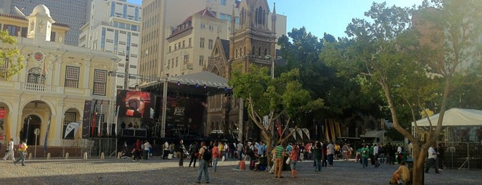 Greenmarket Square is one of Best places in Cape Town, South Africa.