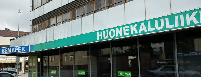 Huonekaluliike Semapek is one of Home Products.