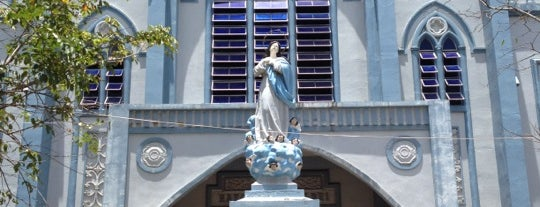 Immaculate Concepcion Cathedral is one of Palawan must-see's.