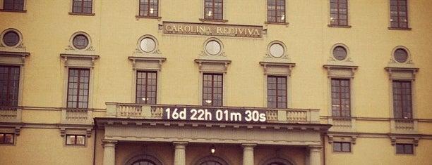 Carolina Rediviva is one of Universitetsbyggnader Uppsala.