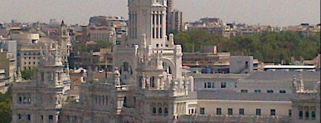 Azotea Círculo de Bellas Artes is one of Terrazas Madrid.