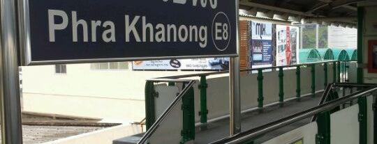 BTS Phra Khanong (E8) is one of BTS Station - Sukhumvit Line.