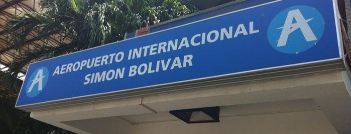Aeropuerto Internacional Simón Bolívar (SMR) is one of Álbum Viajero Aeropuertos, COL.
