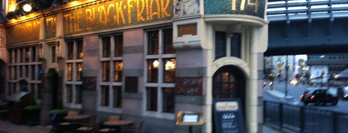 The Blackfriar is one of London Pint.