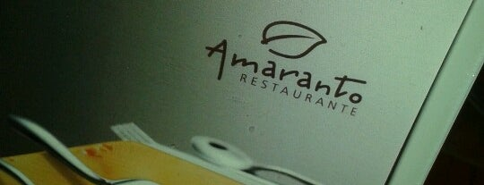 Amaranto Restaurante is one of Onde almoçar na Paulista.