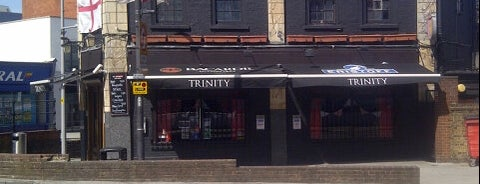 The Trinity Bar is one of Around Harrow Campus.