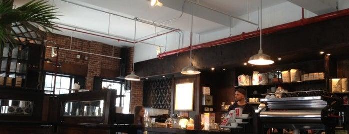 Sweetleaf is one of NY Espresso.