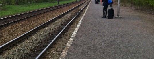 Station Bokrijk is one of Bijna alle treinstations in Vlaanderen.