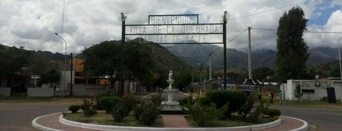 Villa de la Quebrada is one of Cuyo (AR).