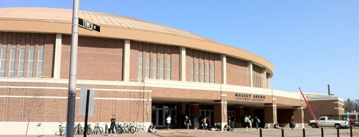 Mackey Arena (MACK) is one of Sporting Venues To Visit.....