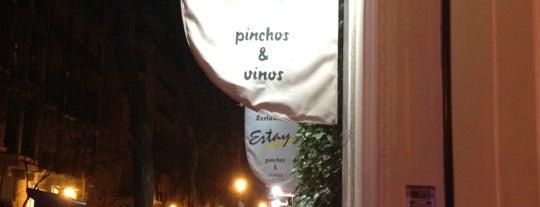 Estay is one of 41 Bares imprescindibles para tapear en España.