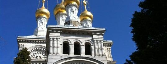 Église Russe orthodoxe de Genève is one of Genève City Guide.
