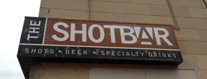 The Shot Bar is one of CoMO Bar Musts.