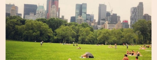 Central Park is one of New York's Best Great Outdoors - 2012.