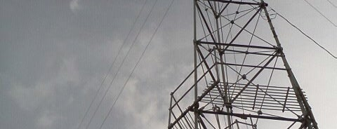 Moonlight Tower (12th & Rio Grande) is one of Austin's Moonlight Towers.